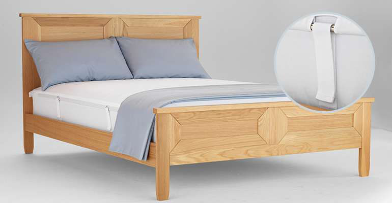 Works on many designs of bed