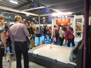Polefit™ bedding, Ideal Home Show, 2014, modern bedding, bedding solution, bedding system,