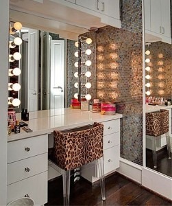 bedroom inspiration, bedroom lighting, make up table lighting, make up table